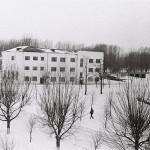 Так выглядила школа в 1970 году.
